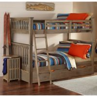 NE Kids Highlands Harper Bunk Bed with Trundle