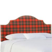 Skyline Furniture Sheffield Queen Headboard in Ancient Stewart Red