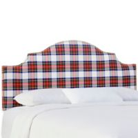 Skyline Furniture Sheffield California King Headboard in Stewart Dress Multi