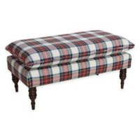 Skyline Furniture Parkview Bench in Stewart Dress Multi