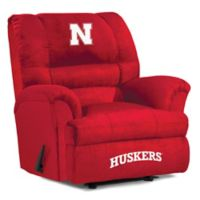 University of Nebraska Big Daddy Microfiber Recliner