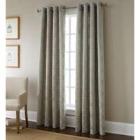 Austin Horn Classics 84-Inch Gateway Window Curtain Panel in Sand