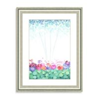 Watercolor Bouquet Framed Giclée Print Wall Art II