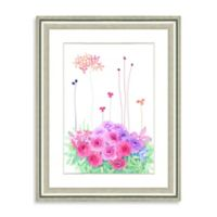 Watercolor Bouquet Framed Giclée Print Wall Art III