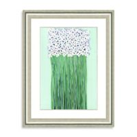 Watercolor Bouquet Framed Giclée Print Wall Art V