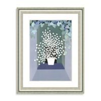 Watercolor Botanical Scene Framed Giclée Print Wall Art II