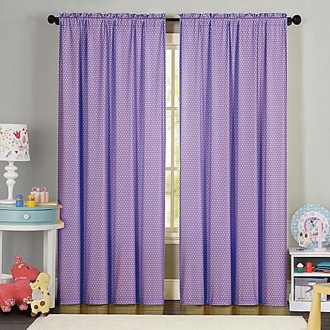 84-Inch Yellow Curtain Panel