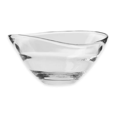 krosno sydney 9 inch bowl - Decorative Glass Bowls