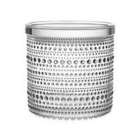 Iittala Kastehelmi Large Jar with Lid in Clear