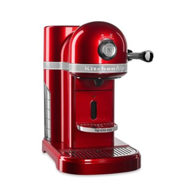 nespresso by kitchenaid in candy apple red