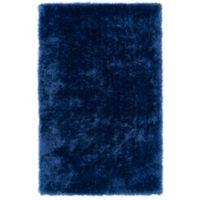 Kaleen Posh 2-Foot x 3-Foot Shag Accent Rug in Blue