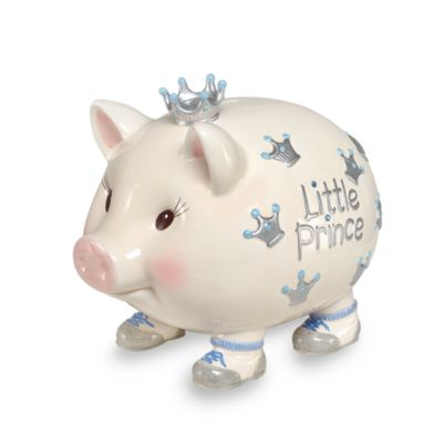 piggy banks u003e mud pie giant little prince piggy bank