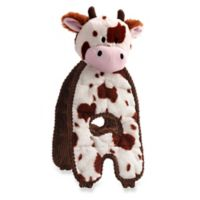 Charming Pet® Cuddle Tugs™ Cozy Cow Dog Toy in Brown/White