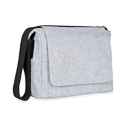 lassig green label small messenger diaper bag in black bed bath beyond. Black Bedroom Furniture Sets. Home Design Ideas