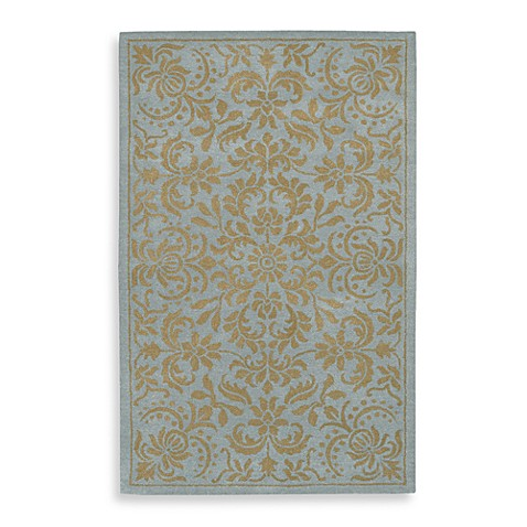 Bombay 2-Foot x 3-Foot Accent Rug in Blue