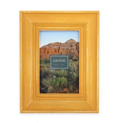 aubergine sierra 4 inch x 6 inch frame in desert yellow