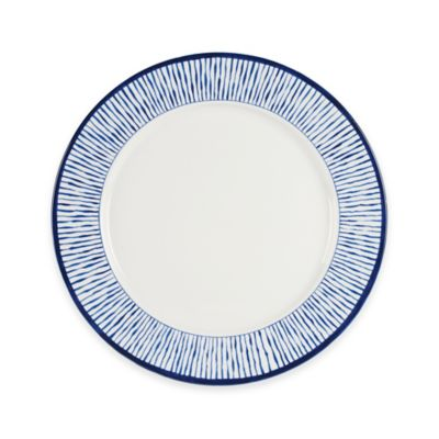 Everyday White® by Fitz and Floyd® Bistro Blue Stripe Dinner Plate  sc 1 st  Bed Bath u0026 Beyond & Buy Stripe Dinner Plates from Bed Bath u0026 Beyond