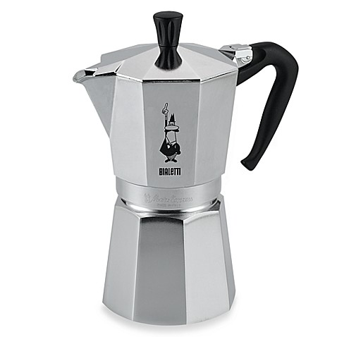 Bialetti 174 Moka Express 9 Cup Espresso Machine Bed Bath