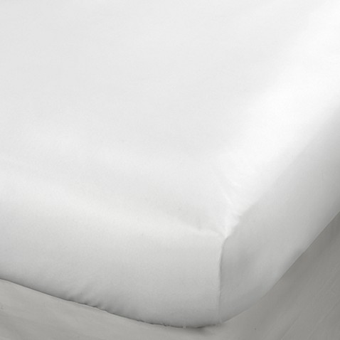 vinyl fitted 9-inch mattress protector - bed bath & beyond