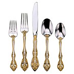 Oneida® Michelangelo Gold 5-Piece Flatware Place Setting