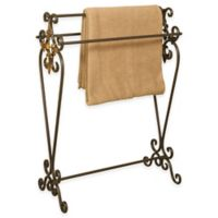 Metal Quilt Rack in Oil Rubbed Bronze
