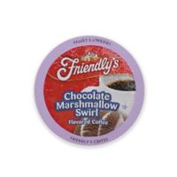 Two Rivers Coffee Co.18-Count Friendly's Chocolate Marshmallow Coffee for Single Serve Coffee Makers