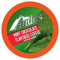 Two Rivers Coffee Co. 18-Count Andes Mint Chocolate Flavored Coffee for Single Serve Coffee Makers