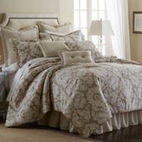 Sherry Kline Florentine California King Comforter Set in Taupe