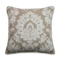 Sherry Kline Florentine Throw Pillow in Taupe