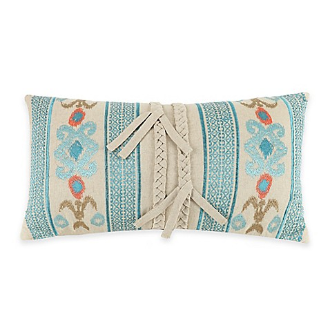 Jessica Simpson Indian Inspired Sunrise Oblong Throw