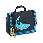 Lassig 4Kids Shark Mini Washbag in Ocean Blue
