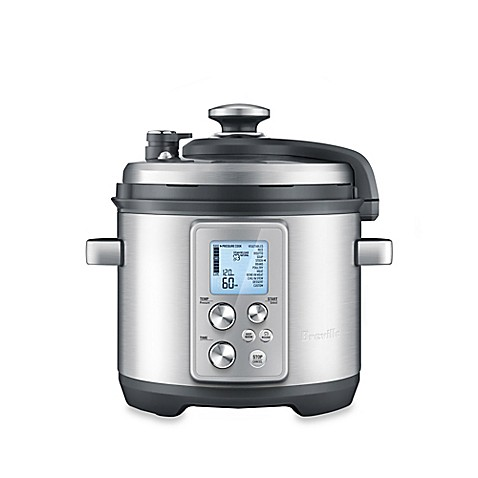 Buy breville fast slow pro 6 qt multi cooker from bed for Multi cooker