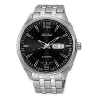 Seiko Men's 44.5mm Recraft Automatic Watch in Stainless Steel