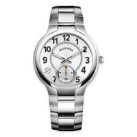 Philip Stein Men's 40mm Round Dial Bracelet Watch in Stainless Steel
