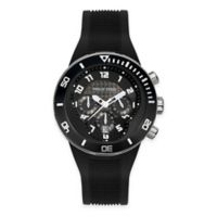 Philip Stein Men's 46mm Active Extreme Chronograph Watch in Black Stainless Steel