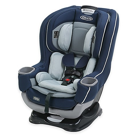 graco extend2fit convertible car seat with rapidremove cover in cadet buybuy baby. Black Bedroom Furniture Sets. Home Design Ideas