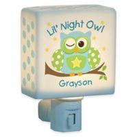 """Lil Night Owl"" Nightlight for Boys"