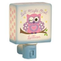 """Lil Night Owl"" Nightlight for Girls"