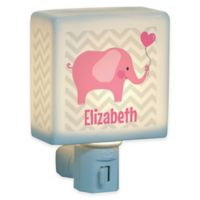 Elephant Nightlight in Pink