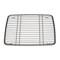 InterDesign® Kitchen Sink 13-Inch x 10.5-Inch Protector Grid Mat in Bronze