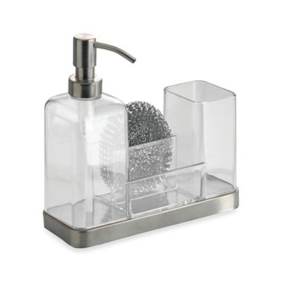 Interdesign Forma Soap Brush Caddy