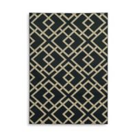 Oriental Weavers Ella Geometric Diamonds 1-Foot 10-Inch x 3-Foot 3-Inch Accent Rug in Navy