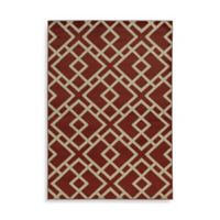 Oriental Weavers Ella Geometric Diamonds 1-Foot 10-Inch x 3-Foot 3-Inch Accent Rug in Red