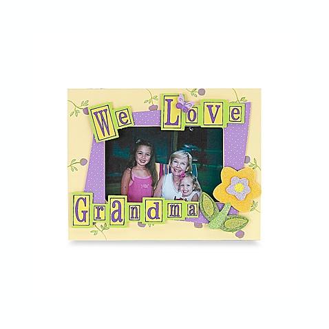 We Love Grandma 4-Inch x 6-Inch Frame by So Seong inc. - buybuy BABY