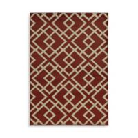 Oriental Weavers Ella Geometric Diamonds 5-Foot 3-Inch x 7-Foot 3-Inch Area Rug in Red