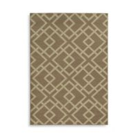 Oriental Weavers Ella Geometric Diamonds 5-Foot 3-Inch x 7-Foot 3-Inch Area Rug in Stone