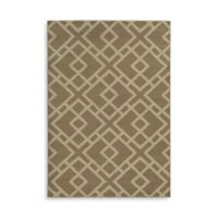 Oriental Weavers Ella Geometric Diamonds 6-Foot 7-Inch x 9-Foot 6-Inch Area Rug in Stone