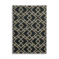 Oriental Weavers Ella Geometric Diamonds 7-Foot 10-Inch x 10-Foot Area Rug in Navy