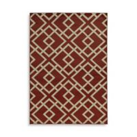 Oriental Weavers Ella Geometric Diamonds 7-Foot 10-Inch x 10-Foot Area Rug in Red
