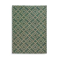 Oriental Weavers Ella Diamond Trellis 1-Foot 10-Inch x 3-Foot 3-Inch Accent Rug in Blue